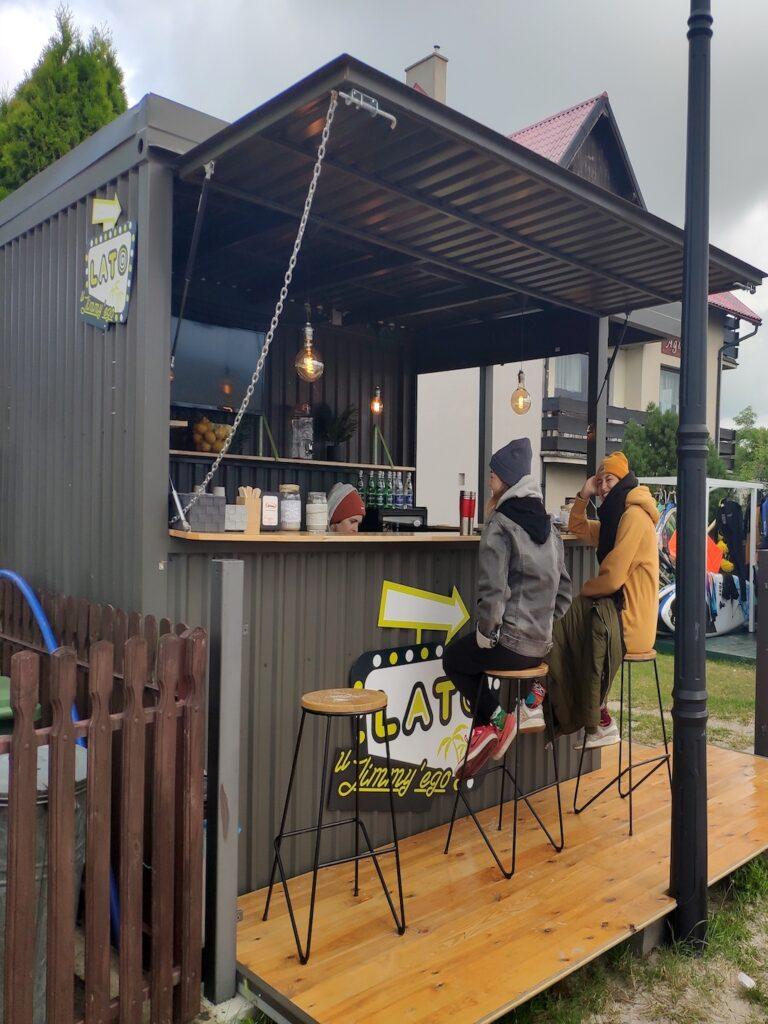 tło coffee bar